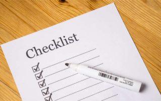 Checkliste HU